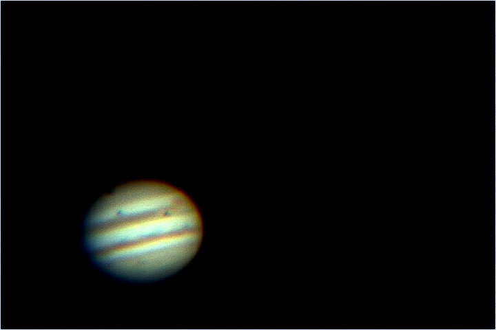 Triple-Transit Jupiter