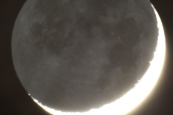 The Old Moon in the New Moon's Cradle