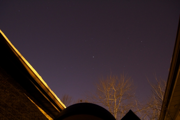 Stars with Jupiter in the sky