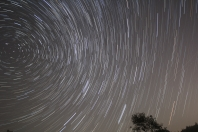 Startrails At Glen Major