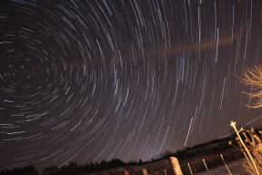 Startrails At Glen Major Again